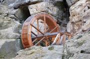 Regensteinmühle, Wasserrad