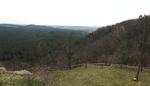 Blick vom Regenstein in Richtung Nordosten.