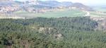 Blick vom Regenstein in Richtung Heimburg.