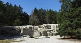 Burg Regenstein - Sandhöhlen im Heers