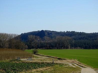 NIKON P900, Straße nach Halberstadt, westlich vom Regenstein