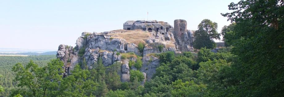 Ruine der Felsenburg Regenstein
